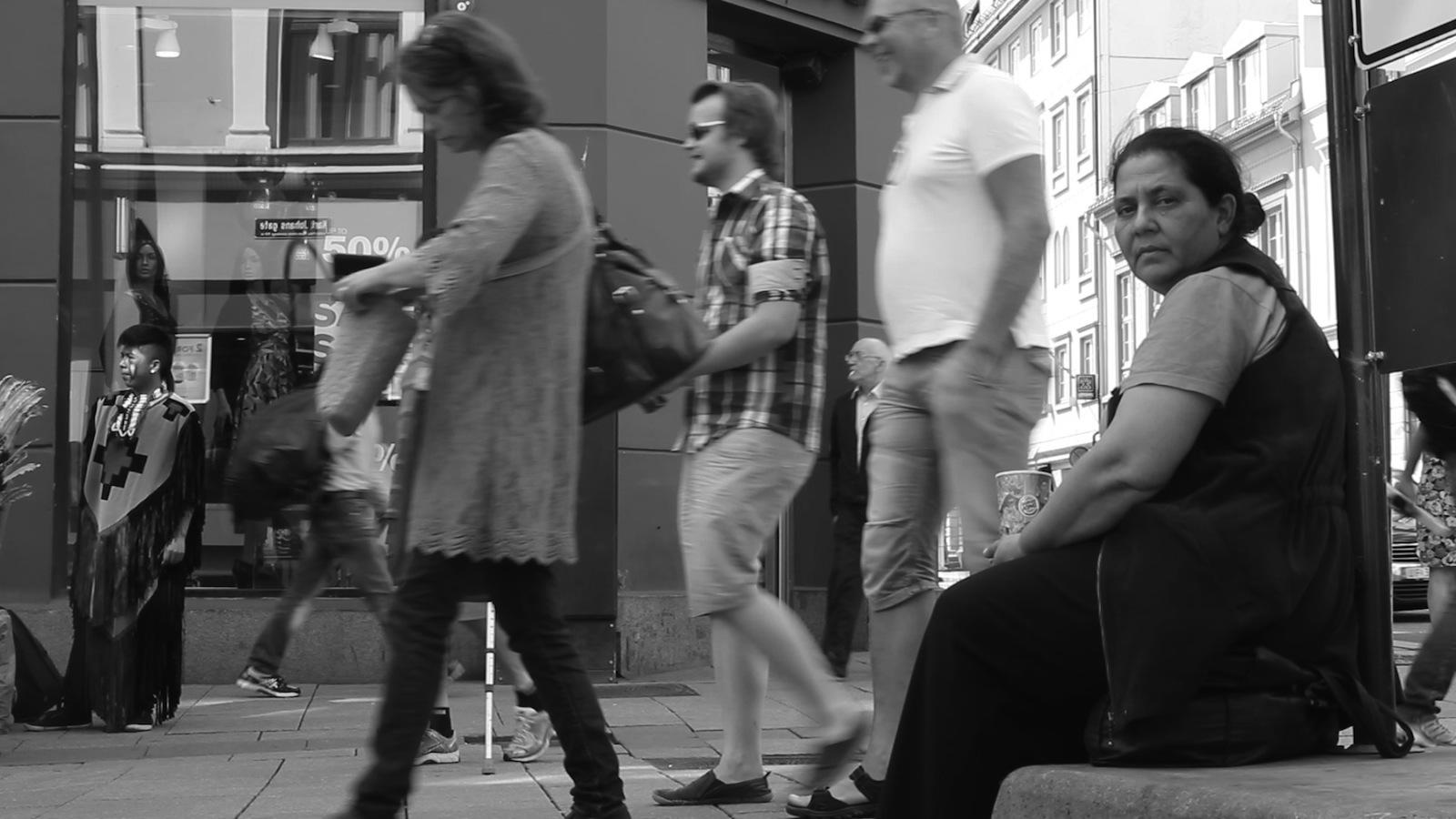 Stillbilde fra filmen DANIELA SA DET HUN SÅ av Janne Hoem.