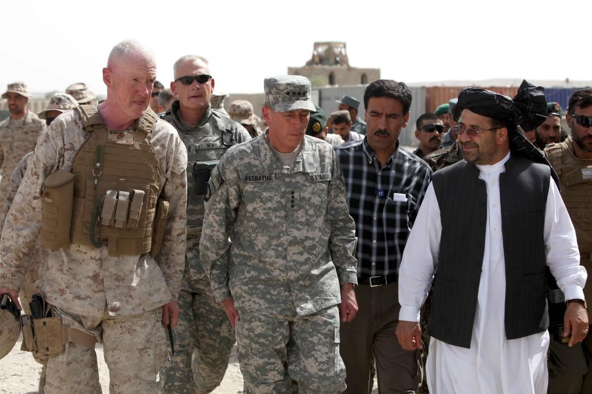 Fortsatt strid i afghanistan