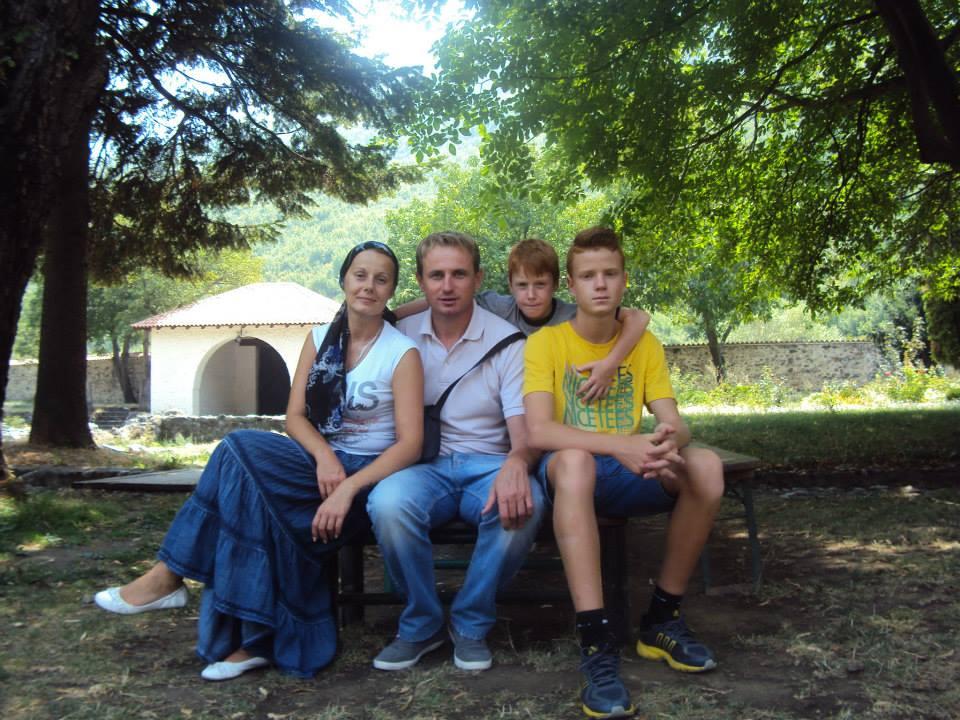 Familien Mandic. Foto: Privat