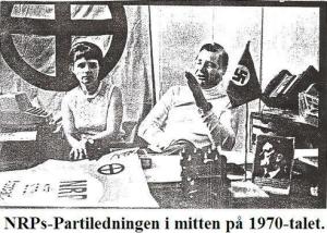 Bilde av Göran Assar Oredsson og hans fru Vera Oredsson