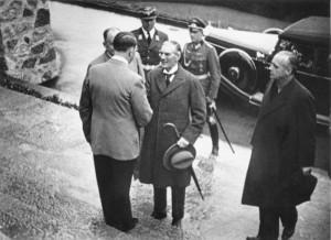 Adolf Hitler og Chamberlain
