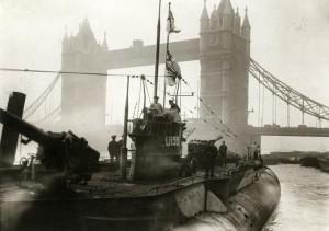 U-155 i London