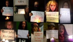 Også på internett vises solidaritet med massebevegelsen i Mexicos gater.