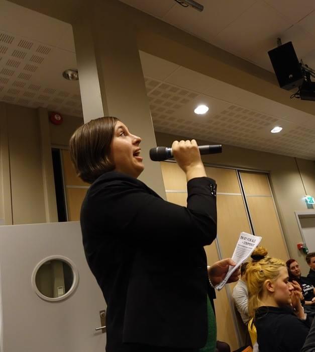 Sunniva Schultze-Florey  i Bergen Offentlige Bibliotek   16 mars.2015