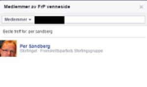 sandberg-vennegruppe