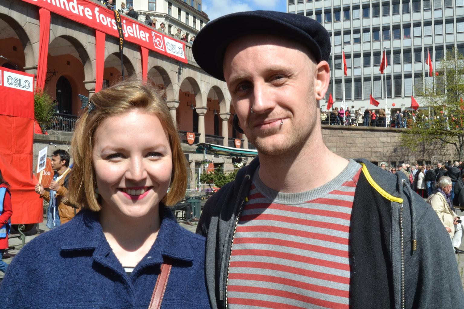 Rebekka og Daniel