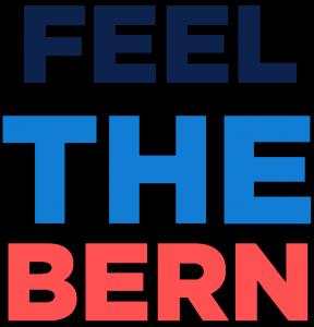 Bernie Sanders' uoffisielle presidentslagord skiller ham fra mengden. Foto: Wikimedia Commons