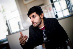 Medleder for UngKurd Norge, Andam Aziz Foto: Christian Vassdal