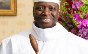 President Yahya Jammeh Foto: Amanda Lucidon / The White House