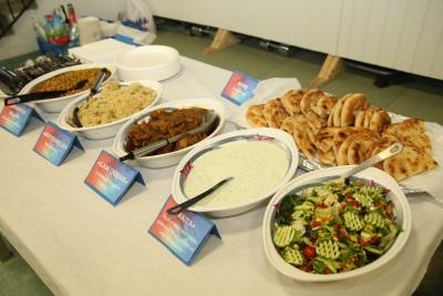 God mat hører en verdig 17.mai-feiring til. Foto: Annum Saher