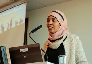 Sara Abdo fra Menneske i limbo. Foto: Ka Man Nak