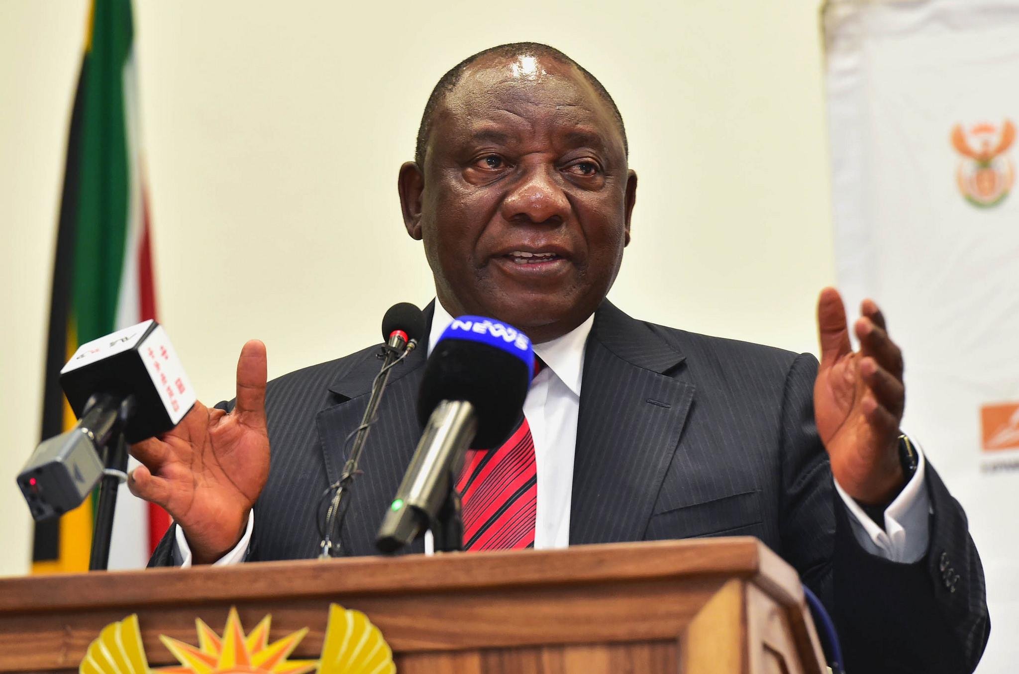 Ny president i Sørafrika Cyril Ramaphosa. Foto: http://www.gov.za